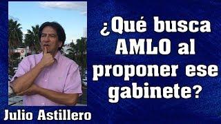 ¿Qué busca #AMLO al proponer ese gabinete?