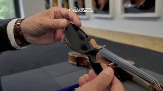 Conrad Götz Stradivari Chinrest // Kinnhalter, ZK-306, ZK-1593, ZK-1593G, ZK-305 for violin & viola