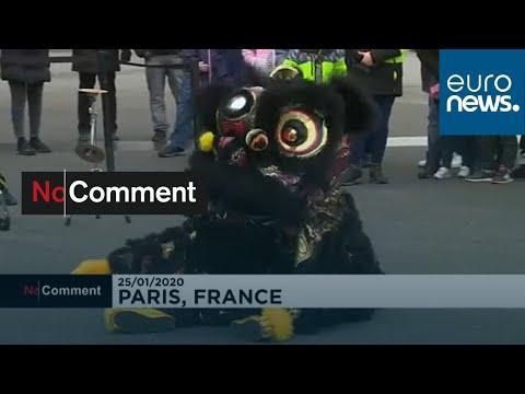 شاهد: إحتفالات برقصات التنين والأسد في باريس إحتفالا بالسنة الصينية الجديدة…  - نشر قبل 37 دقيقة