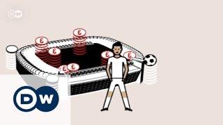 ما حجم الصفقات المالية في عالم كرة القدم؟ | صنع في ألمانيا