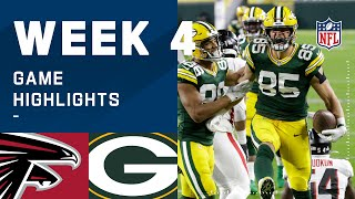 Falcons vs. Packers Week 4 Highlights | NFL 2020