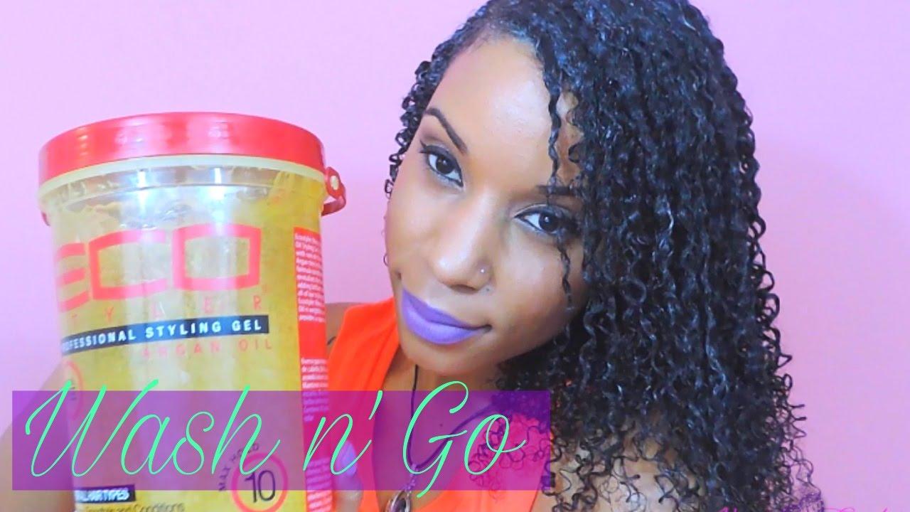 Eco Styler Gel Argan Oil Wash N GO HD Available YouTube