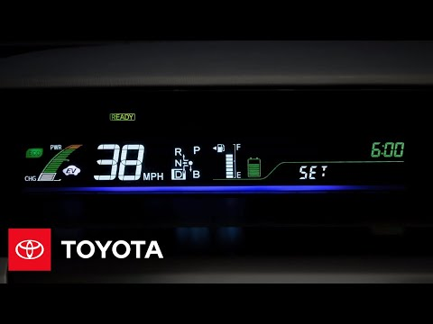 2012 Prius v How-To: Display | Toyota