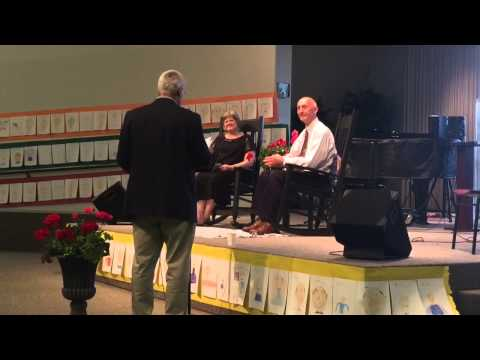 Mayor Scott Korthuis honors Lynden Christian Schools chief Don Kok