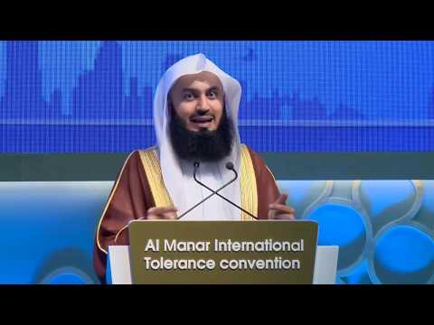 Islam - A Message Of Peace - Mufti Menk