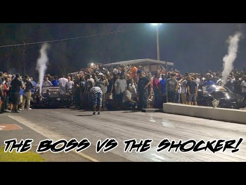 STREET OUTLAWS KYE KELLEY SHOCKER VS TONY BYNES CHOPPA AT THE HOUSE OF HOOK!!
