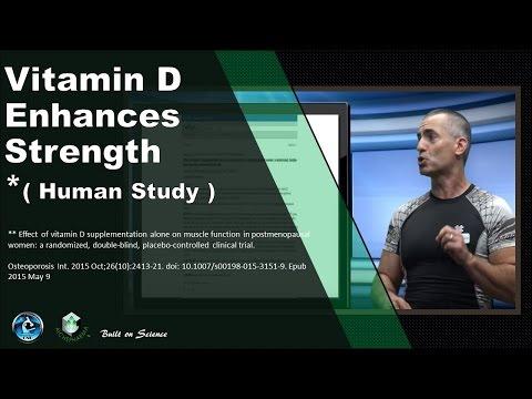Vitamin D Enhances Strength