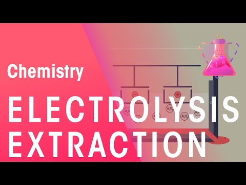 How to extract aluminium by electrolysis | Chemistry for All | FuseSchool