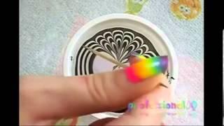 Как сделать градиентный маникюр видеоурок