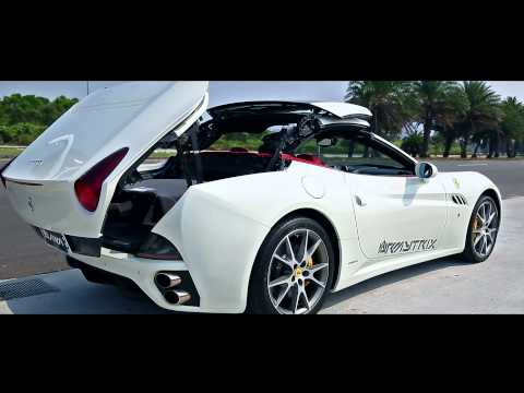 Ferrari California Brutal F1 Exhaust Sounds w/ Armytrix Full Titanium Performance Exhaust