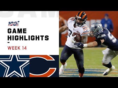 Cowboys vs. Bears Week 14 Highlights | NFL 2019