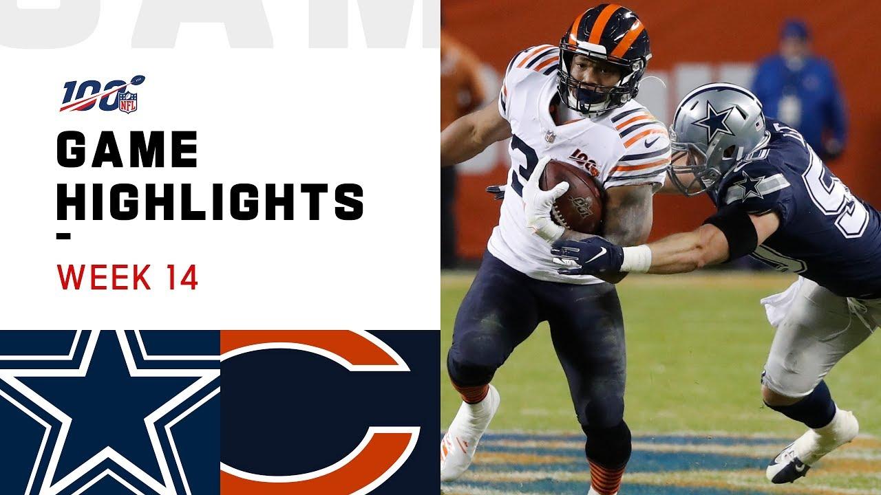 Download Cowboys vs. Bears Week 14 Highlights | NFL 2019