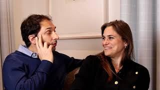 Olivier Girard and Lucy Martens - Filmmakers of THE TWELVE