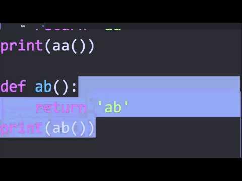 Python & Ruby - 함수 3 : 리턴값