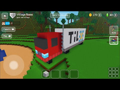 Block Craft 3D : Building Simulator Games For Free Gameplay #302 (iOS & Android)   Truck