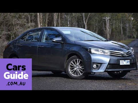 Toyota corolla sx sedan