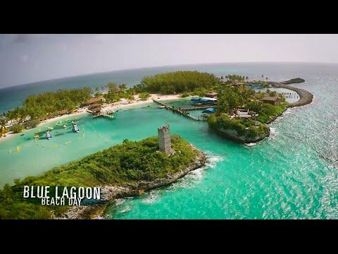 Nassau Blue Lagoon Beach Day - Island Routes - YouTube