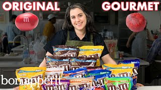 Pastry Chef Attempts to Make Gourmet M&M's | Gourmet Makes | Bon Apptit