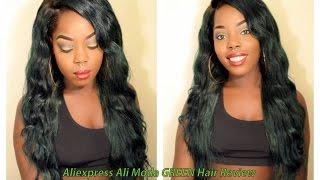 Green Hair | Aliexpress VIP Hair | Virgin Brazilian Straight