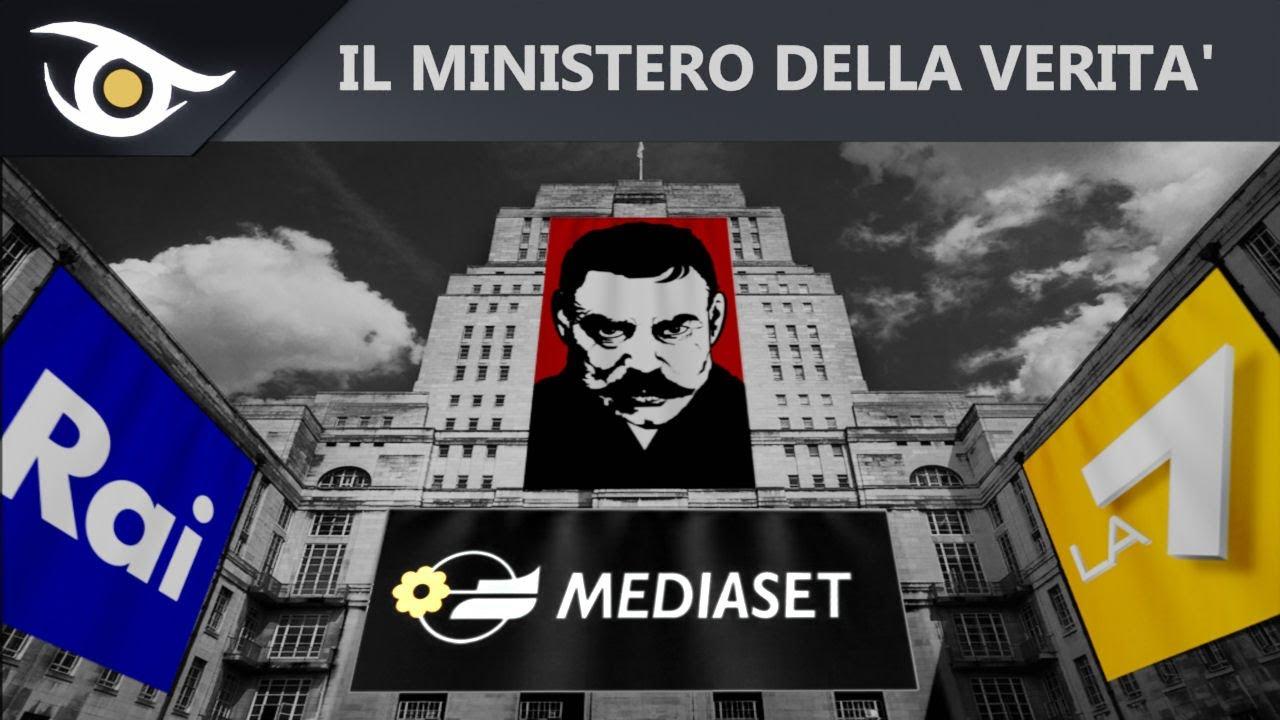 Appello per la libertà di Massimo Mazzucco: NO al Ministero della Verità