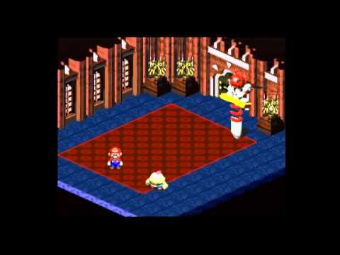 Let's Play Super Mario RPG: Legend of the Seven Stars - Part 5 (The Mushroom Kingdom)