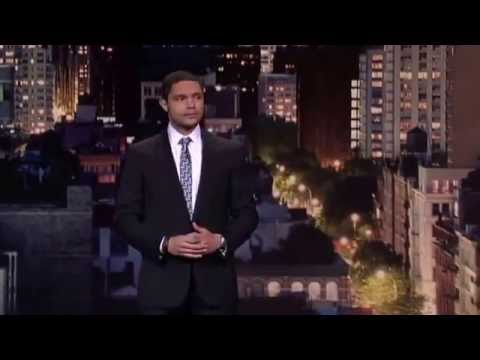 Comedian Trevor Noah On David Letterman 2013