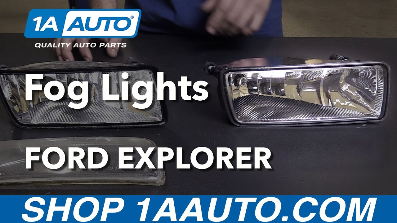 how to replace fog lights 06 10 ford explorer [ 1280 x 720 Pixel ]