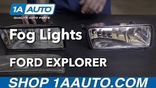 How to Install Replace Fog Lights 2006-10 Ford Explorer