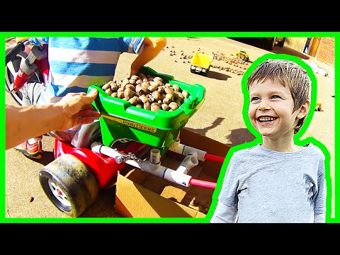 Thumbnail: Tricycle Dump Truck for Axel