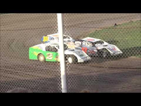 I-76 Speedway - Modified Heat Race 3 - July 16, 2016