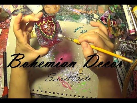 BOHEMIAN DECOR: DIY MOROCCAN LANTERNS Part 1