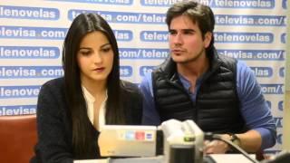 Pablo Y Esmeralda (Maite Perroni Y Daniel Arenas) VideoChat De Los Protagonistas De La Gata