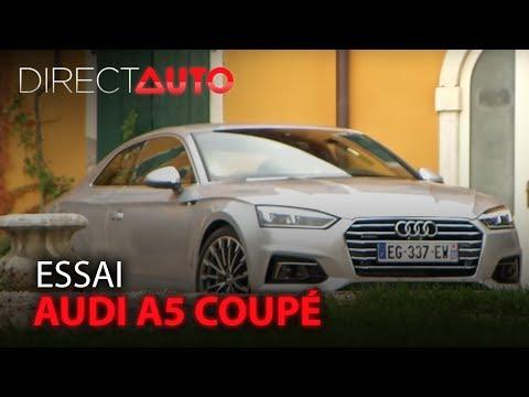 Essai - AUDI A5 COUPÉ