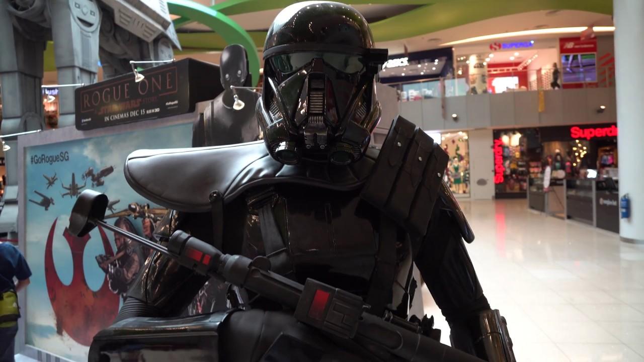 Rogue One Death Trooper Kinderkostüm