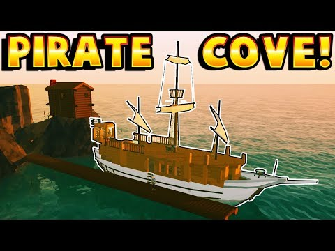 Ylands - PIRATE COVE & SHIP DOCK! - Ylands Gameplay - Island Game - Multiplayer User Creations