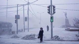 La ciudad más fría del mundo con temperaturas de -45 grados bajo cero