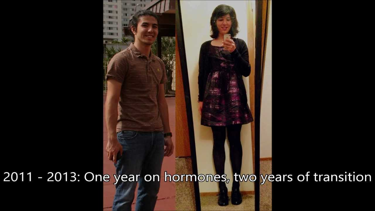 Just Another Transition Video - 1yr HRT [mtf]