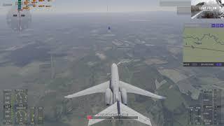 MS Flight Simulator 2020 - Wir fliegen von Dresden, über Bautzen, Görlitz, nach Düsseldorf