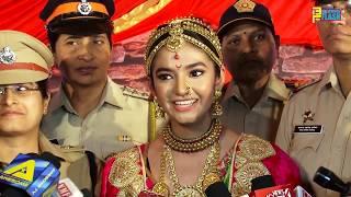 Anushka Sen As Rani Lakshmi Bai - Khoob Ladi Mardani ...Jhansi Ki Rani Serial Launch - Colors