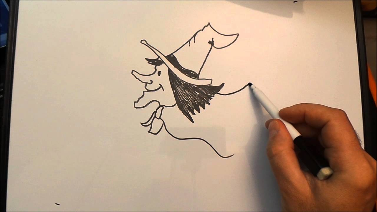 Disegnare la befana youtube for Immagini di ballerine da colorare