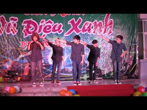 Vũ điệu xanh 2014 - Team GiBi Dance popping [FULL HD 1080p]