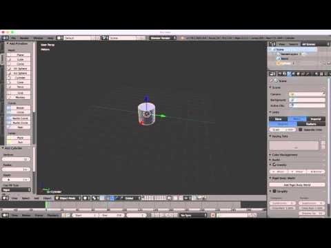 Blender Tip - Modelling In Real Size