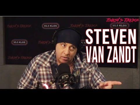 Steven Van Zandt In-studio on Jonesy's Jukebox