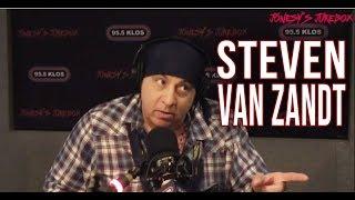Steven Van Zandt In-studio on Jonesy's Jukebox