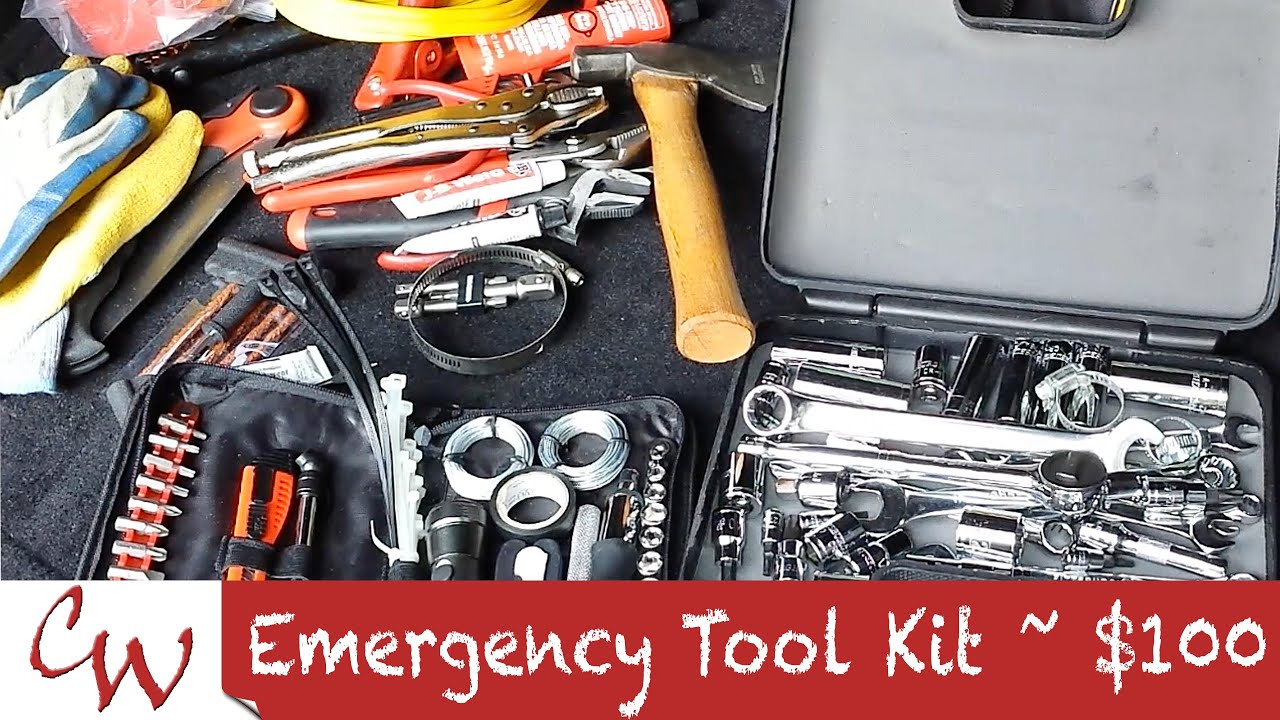 Emergency Car Jeep On Off Road Toolkit Under 100 Youtube