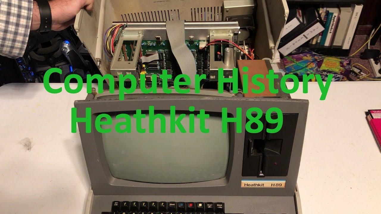 Computer History: 1979 Heathkit H89 (A Successful Kit based CP/M  Computer/Terminal)