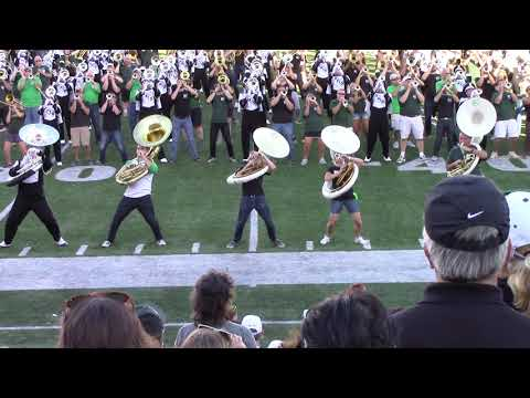 Ohio University Marching 110 Homecoming Post game 5 Long Train