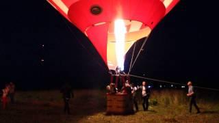 Ночное шоу на фестивале воздушных шаров (Переславль-Залесский) 18.07.2015