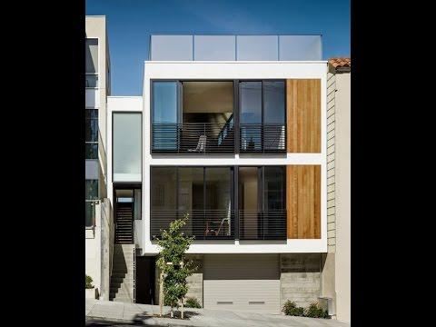 Planos de casa de tres pisos independientes  YouTube