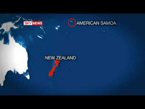 Pacific Island Hit By Tsunami After Quake